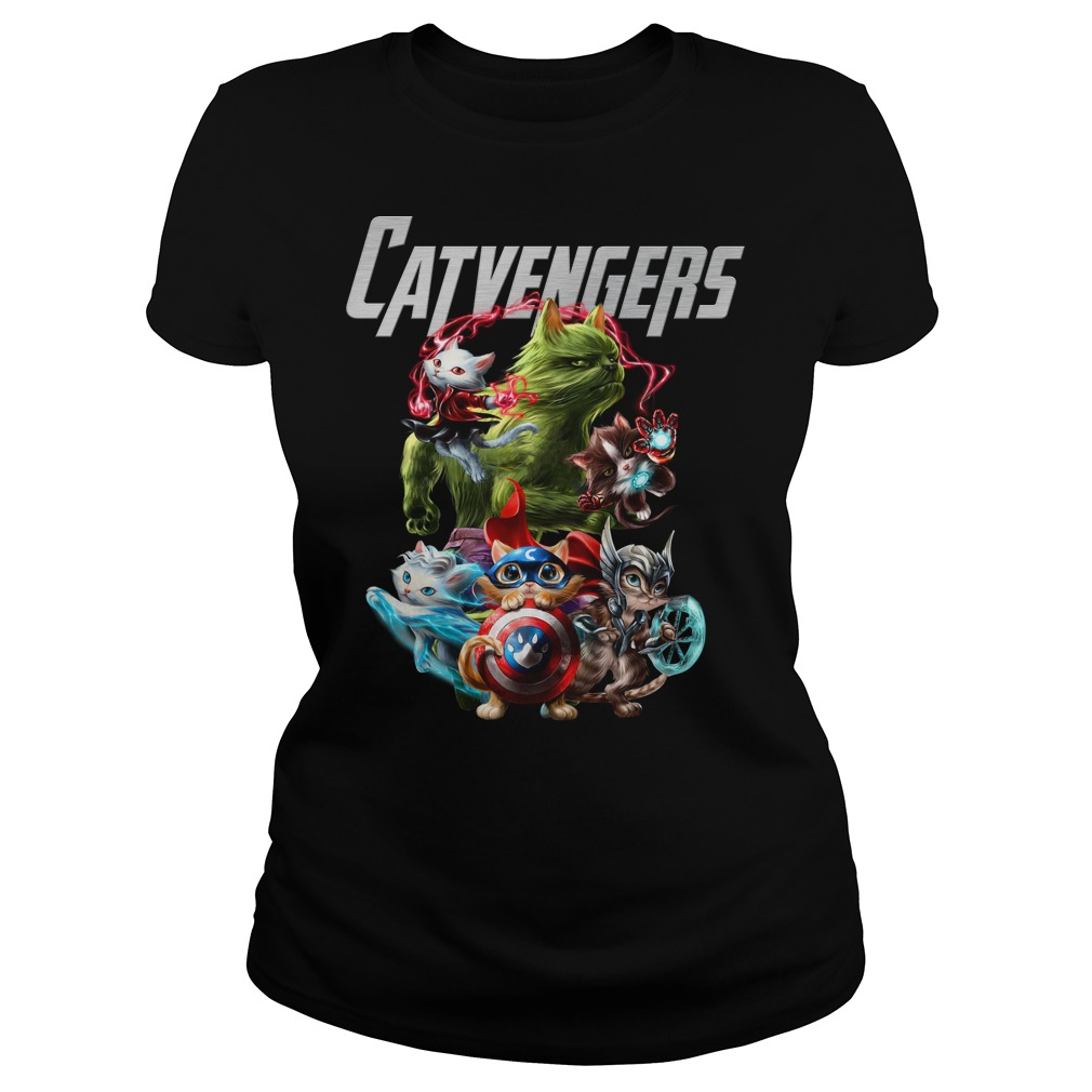Marvel Avengers Catvengers ladies tee