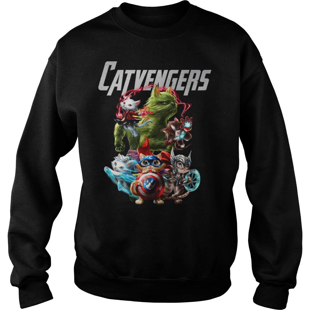 Marvel Avengers Catvengers sweater