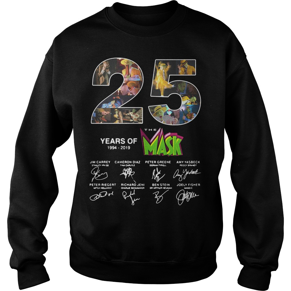25 years of the Mask 1994 2019 signature sweater