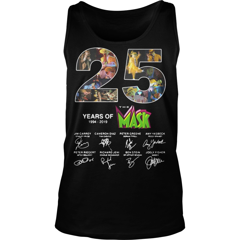25 years of the Mask 1994 2019 signature tank top