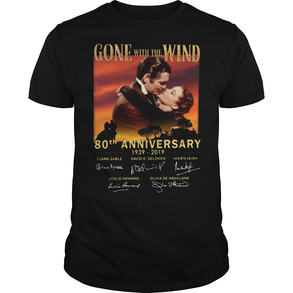 80th Anniversary Gone with the Wind 1939 classic men