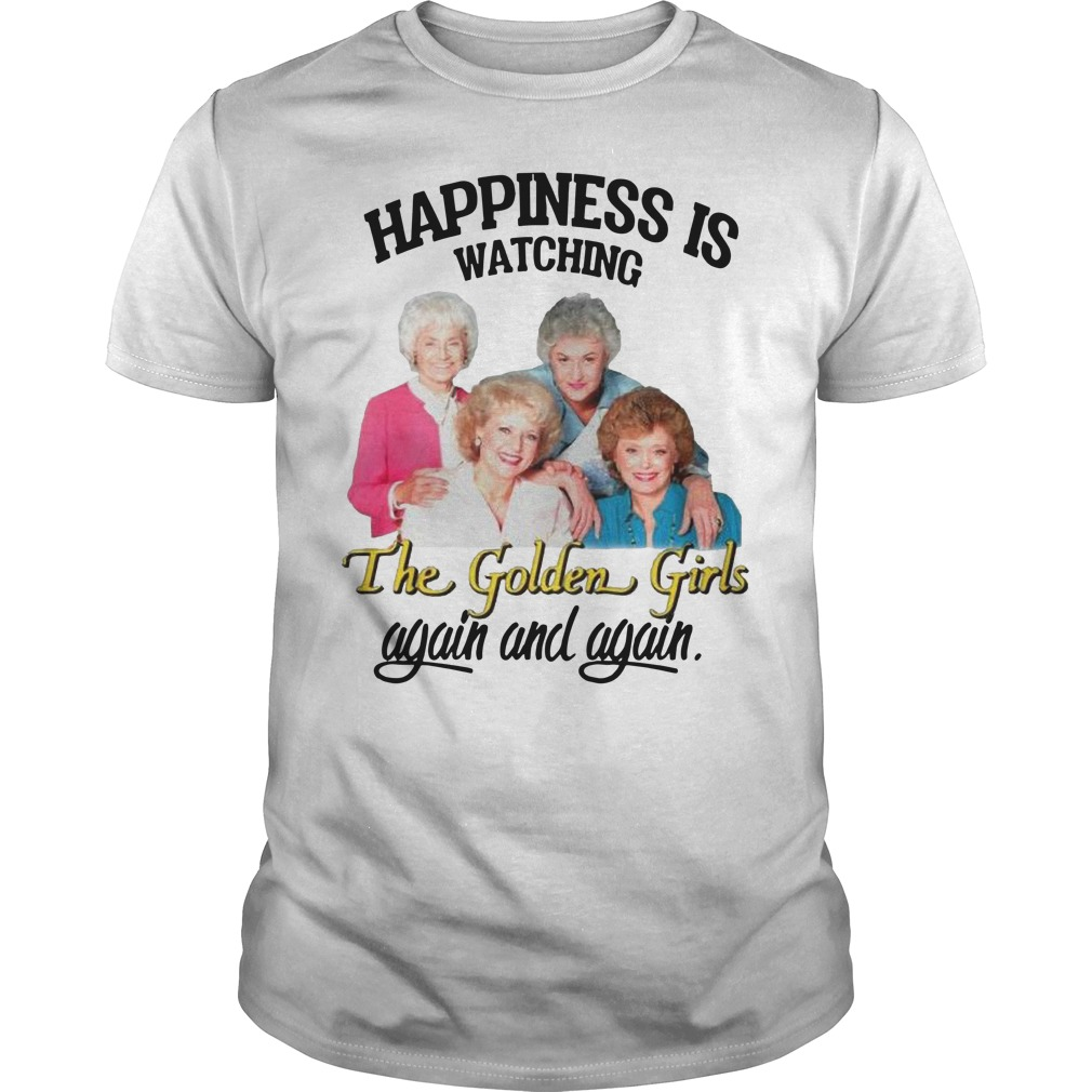 Happiness is watching The Golden Girls again and again classic-men