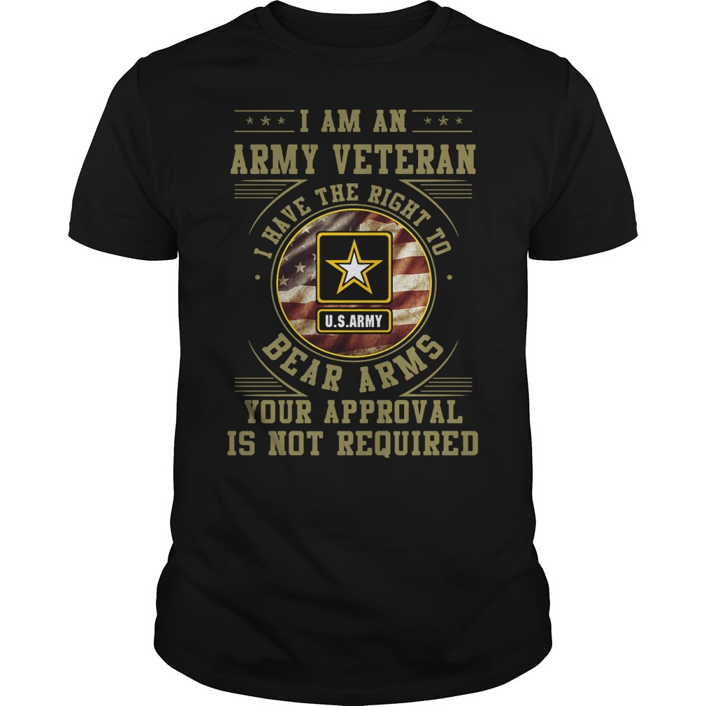 I am an army veteran I have the right to bear arms your approval is not required classic men