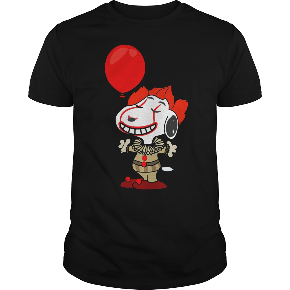 Snoopy Pennywise do you want a balloon classic men