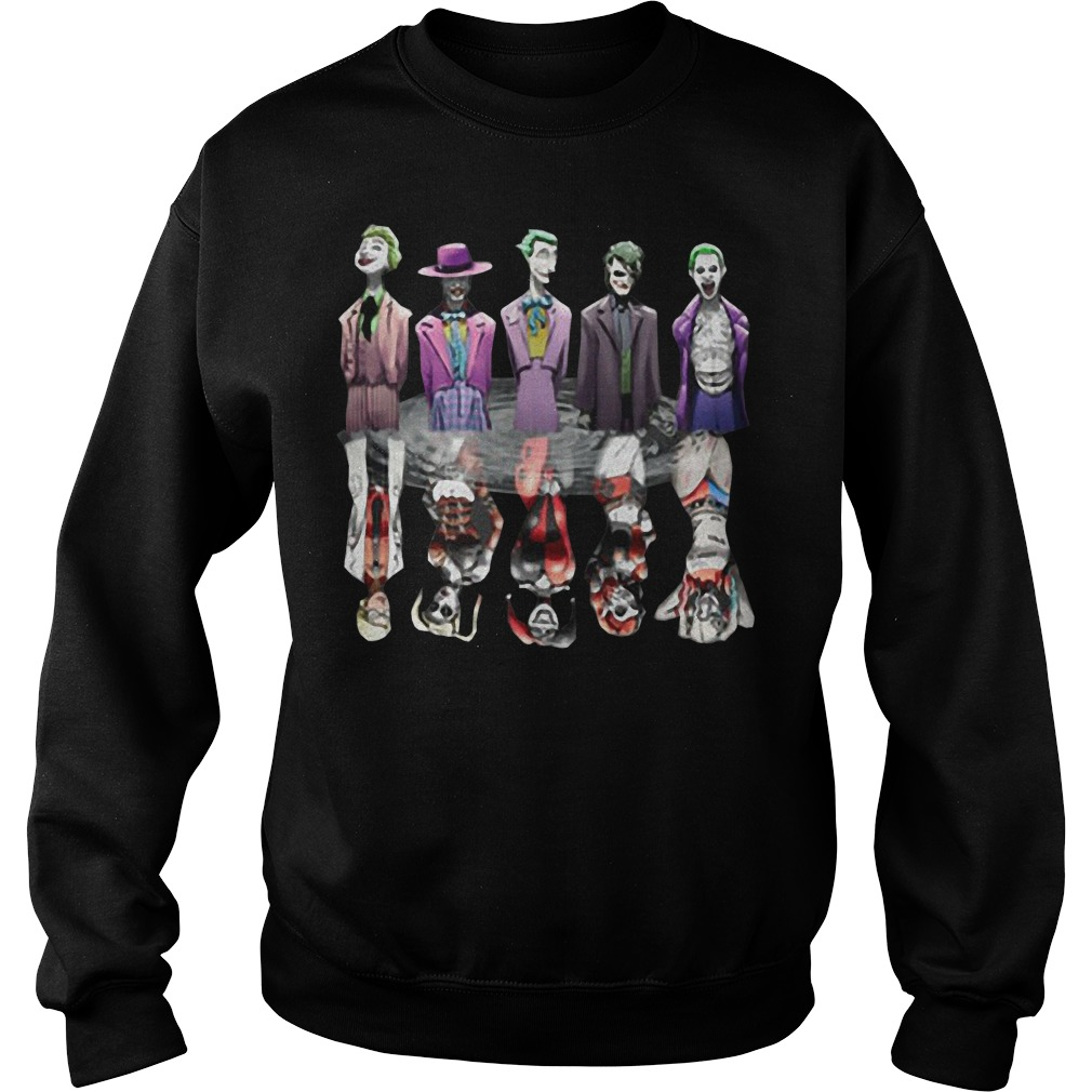 Joker and harley Quinn all versions sweater