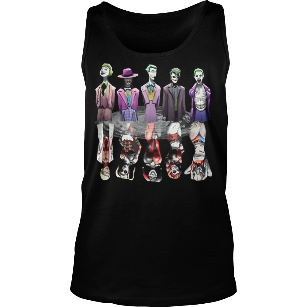 Joker and harley Quinn all versions tank top