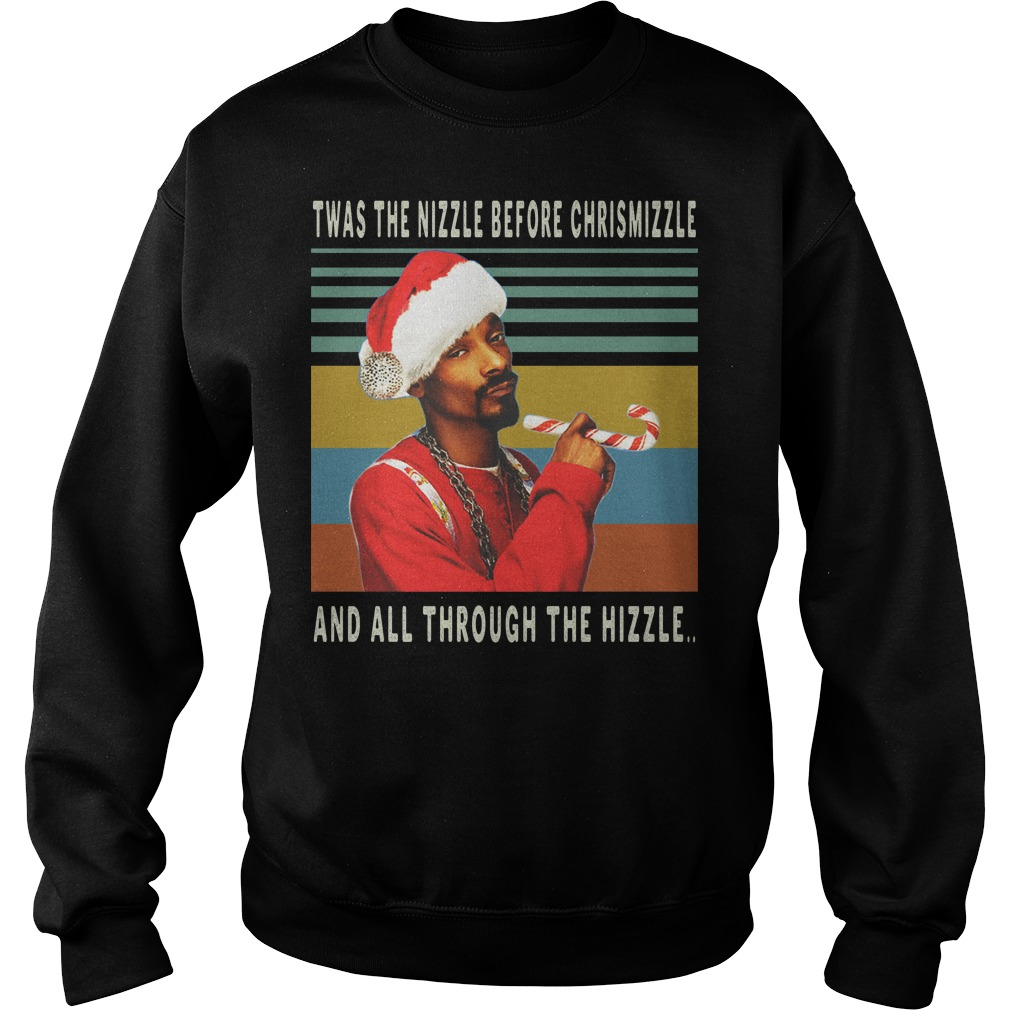 Twas the nizzle before christmizzle and all through the hizzle vintage sweater