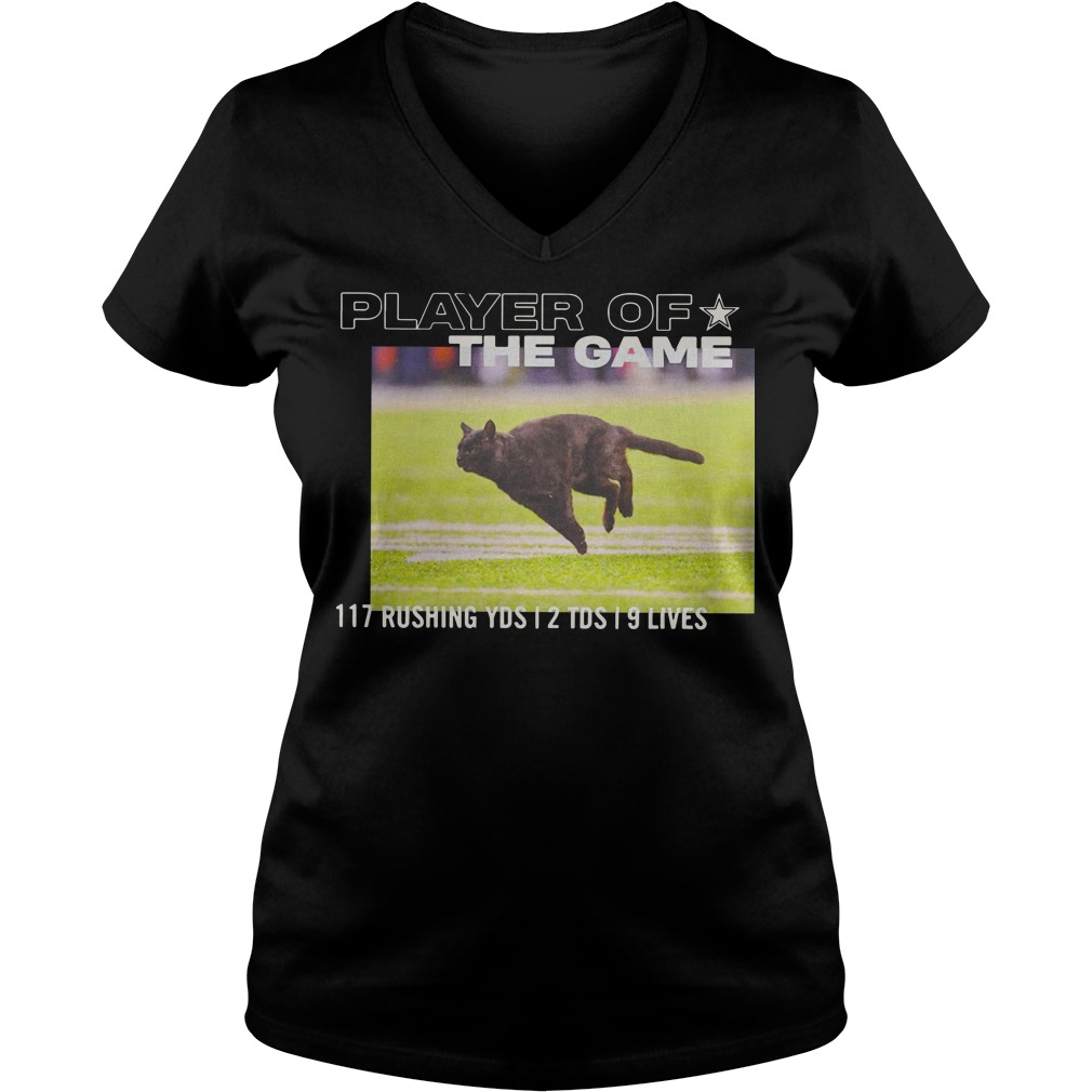 Dallas Cowboys Player Of The Game 117 Rushing YSD 2 TDS 9 Lives V-neck