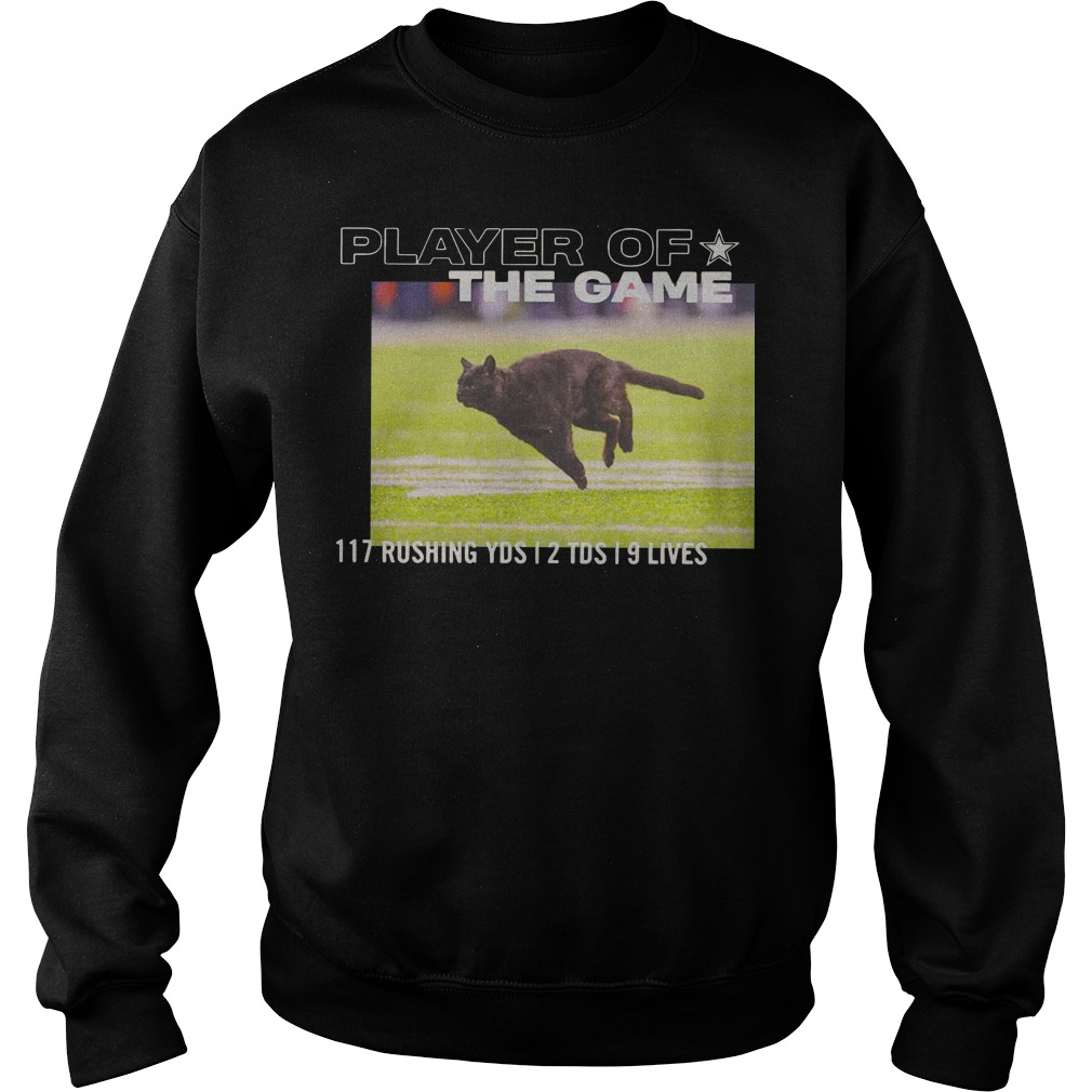 Dallas Cowboys Player Of The Game 117 Rushing YSD 2 TDS 9 Lives sweater