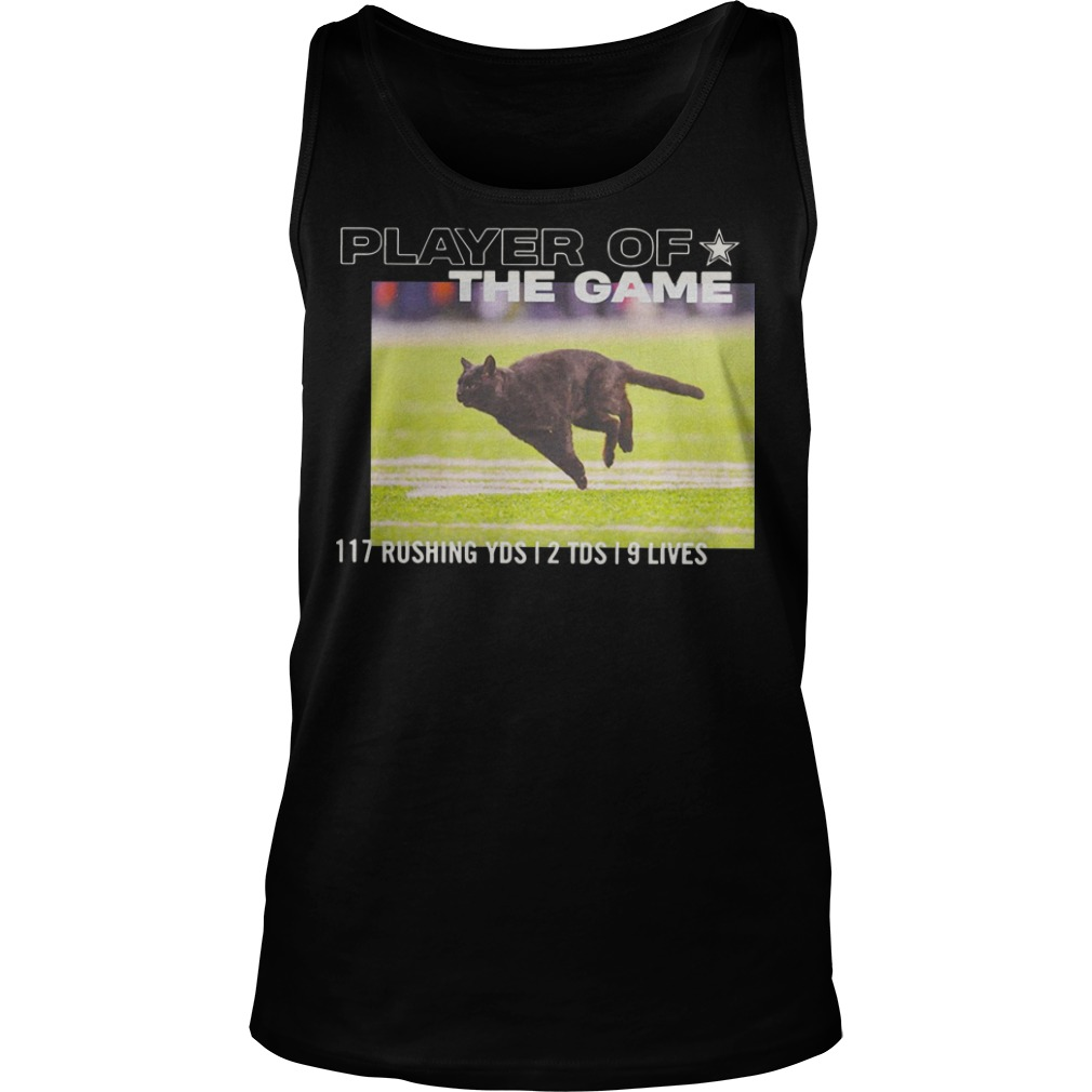 Dallas Cowboys Player Of The Game 117 Rushing YSD 2 TDS 9 Lives tank top