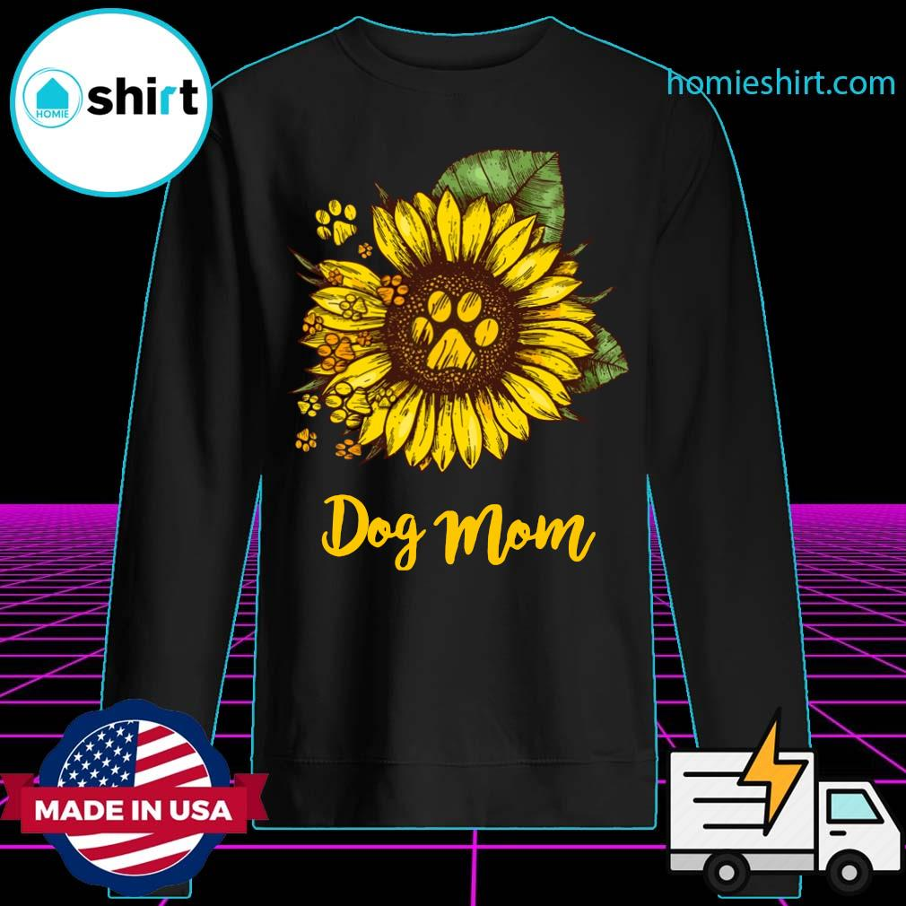 Sunflower Dog Mom Shirt Sweater