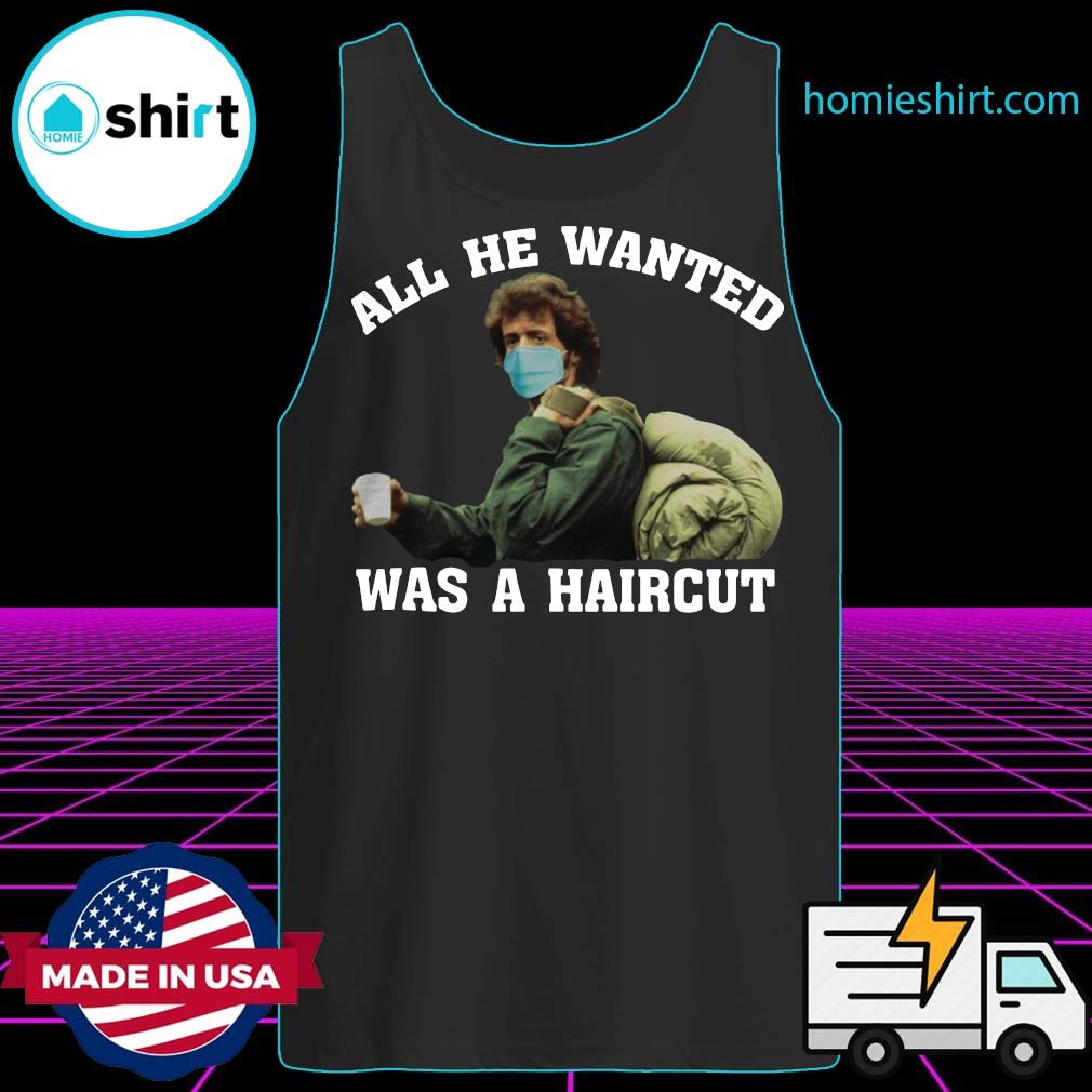 Rambo All he wanted was a haircut s Tank-Top