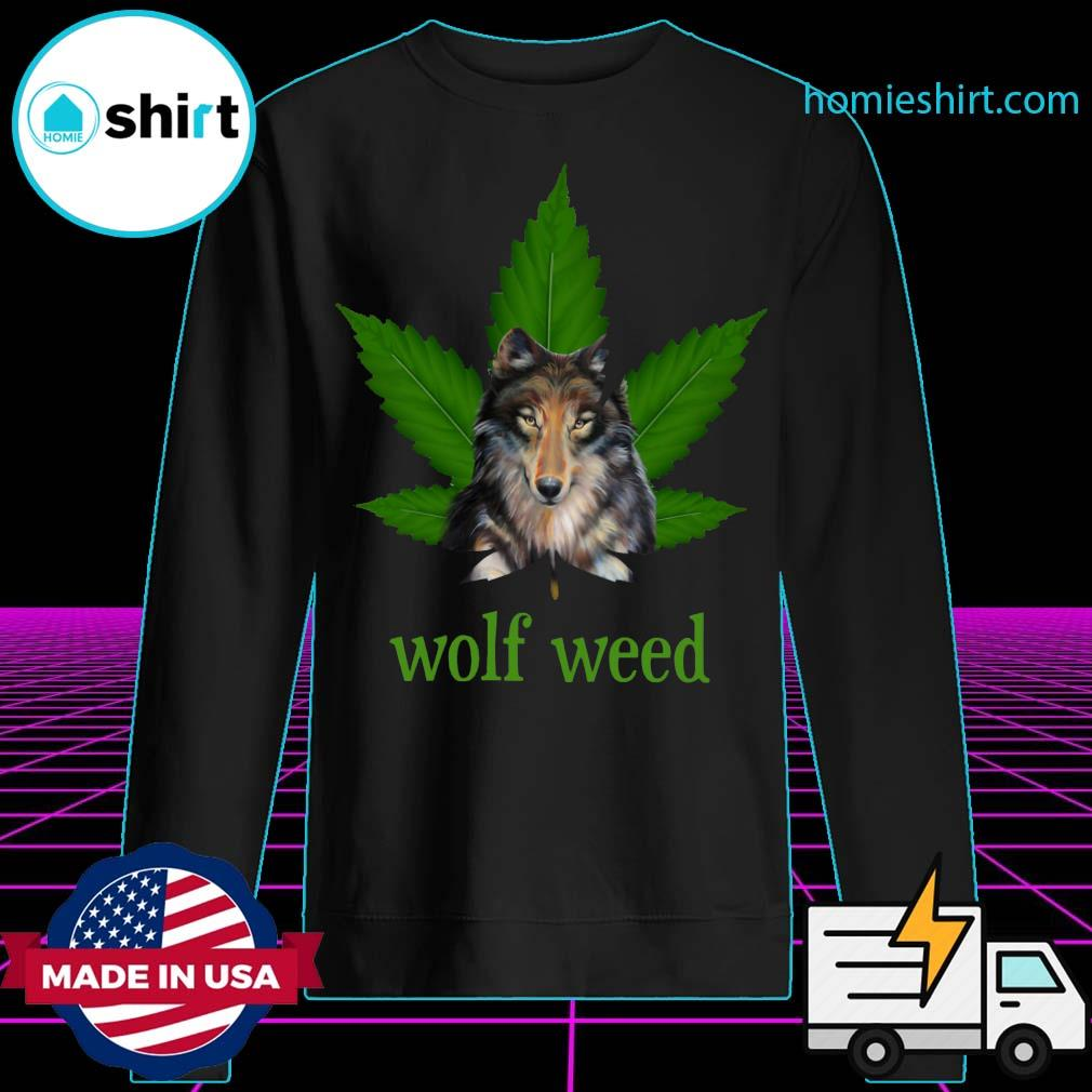Wolf weed s Sweater