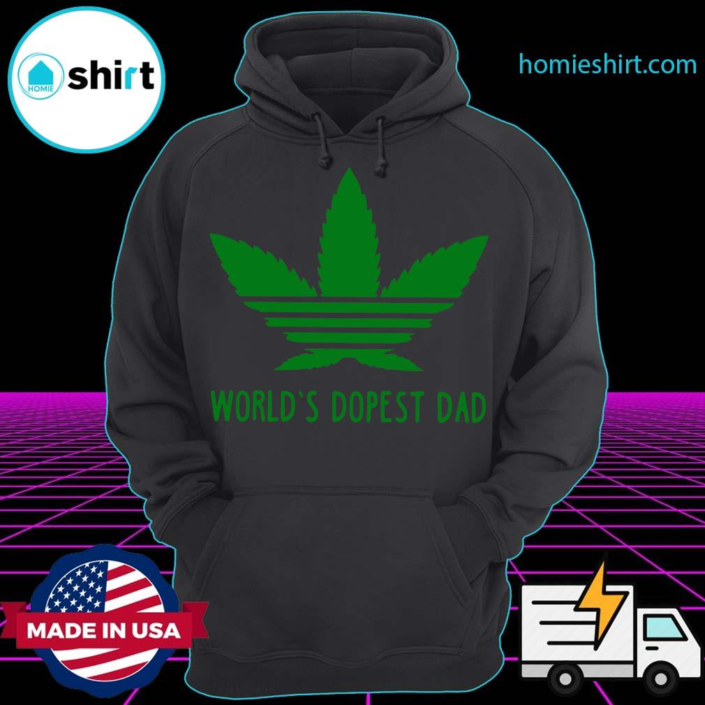 World's Dopest Dad Weed s Hoodie