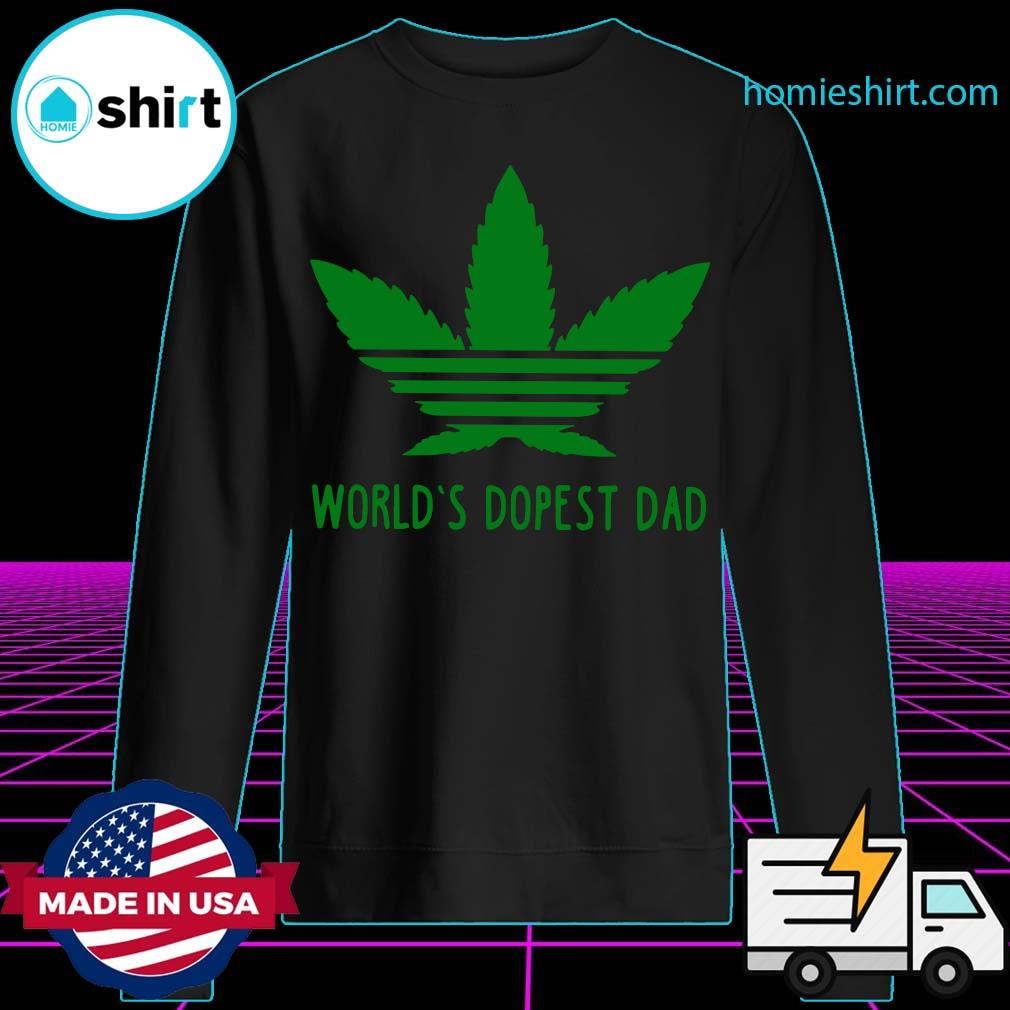 World's Dopest Dad Weed s Sweater