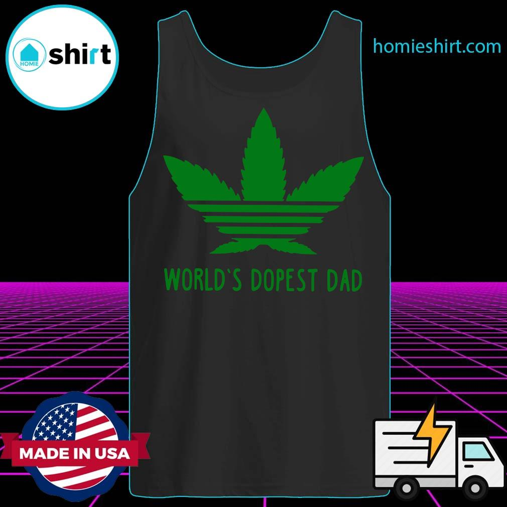 World's Dopest Dad Weed s Tank-Top