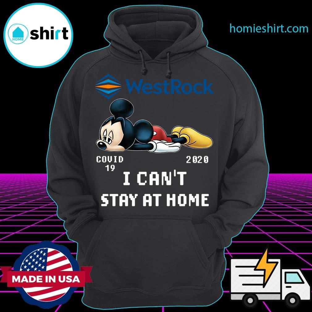 Mickey Mouse Westrock Covid 19 2020 I Can't Stay At Home Shirt Hoodie