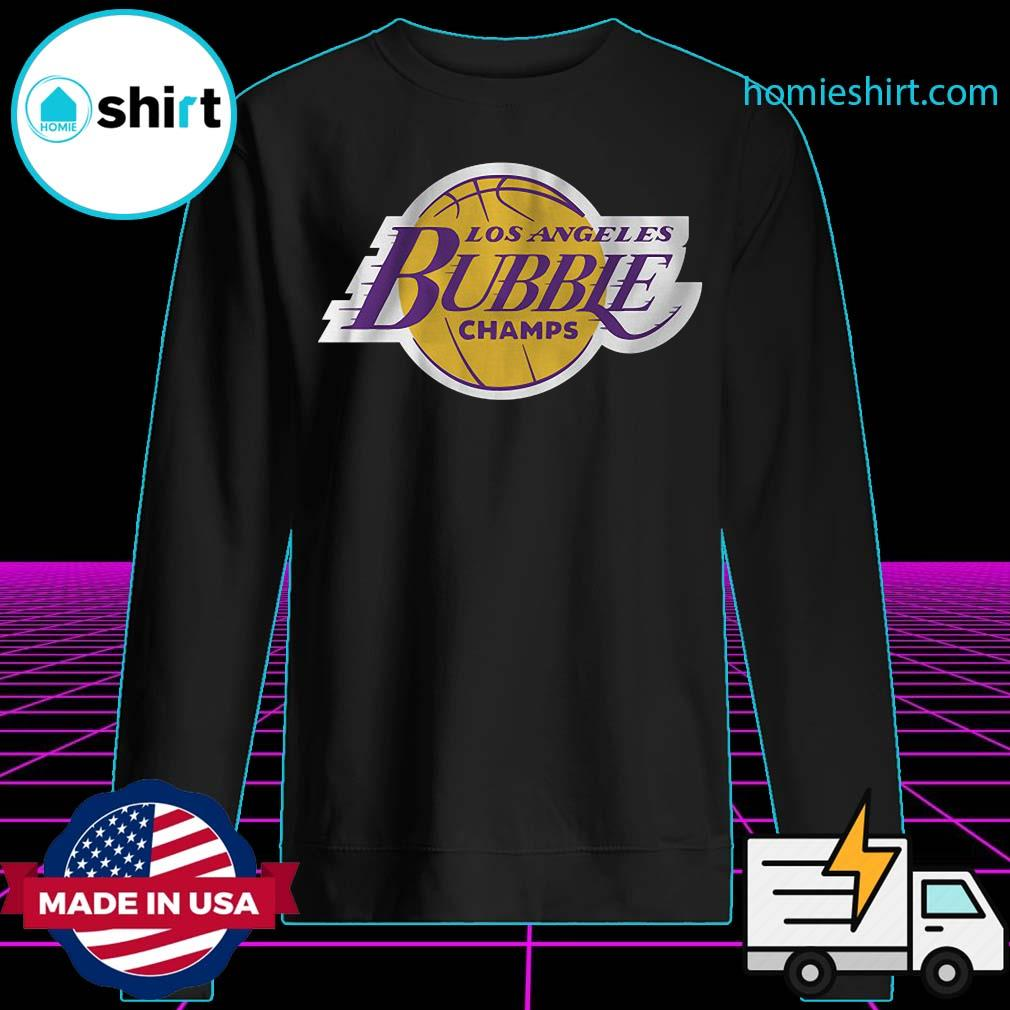 2020 L.A Champions Of The Bubble Shirt Sweater