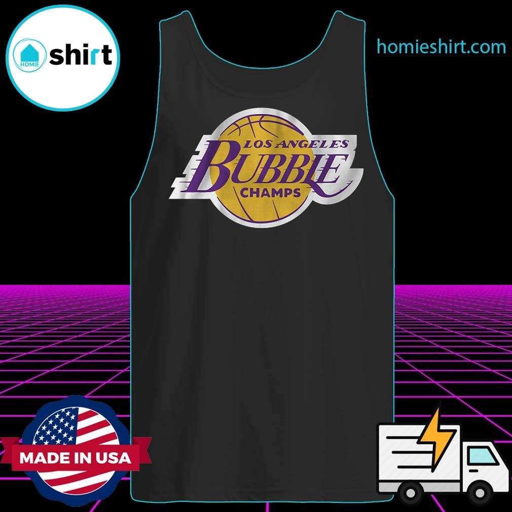 2020 L.A Champions Of The Bubble Shirt Tank-Top