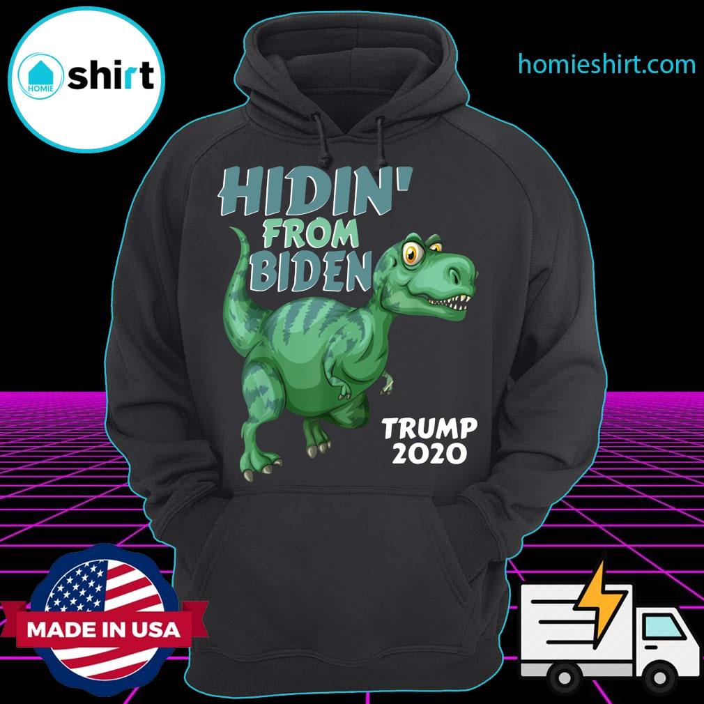 Arlo Dinosaur Hidin_ From Biden Trump 2020 Shirt Hoodie