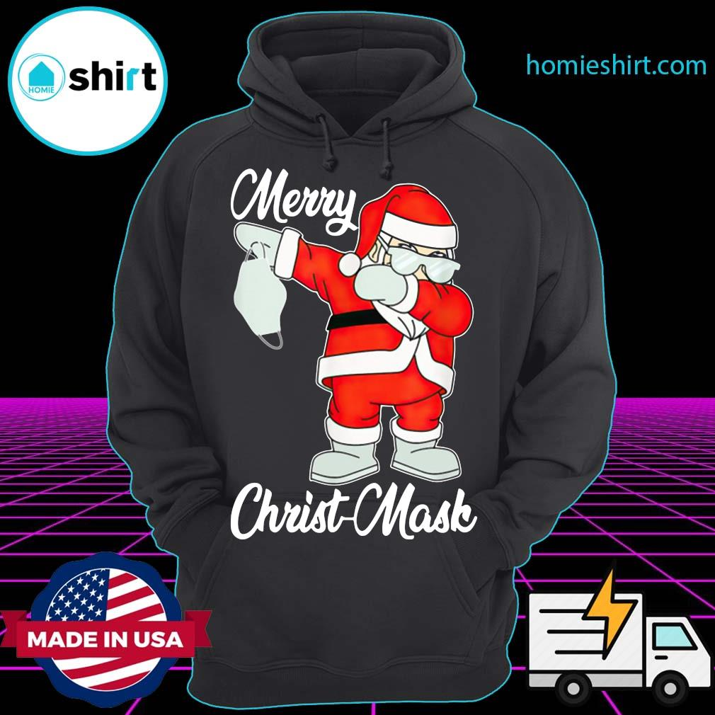 Christmas 2020 Santa claus dabbing merry christmas sweats Hoodie