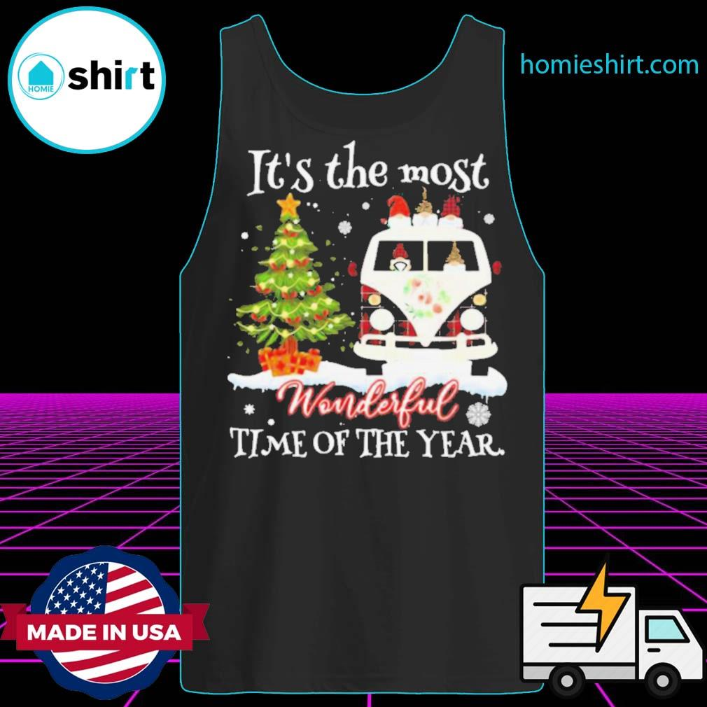 Christmas Gnomies It's The Most Wonderful Time Of The Year s Tank-Top