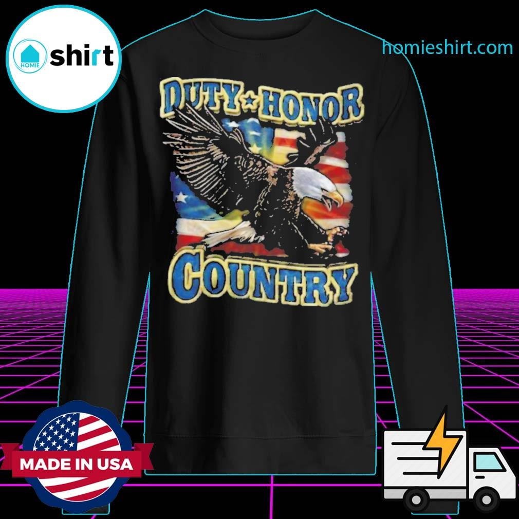 Eagle Duty Honor Country US s Sweater