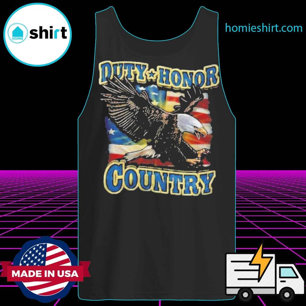 Eagle Duty Honor Country US s Tank-Top