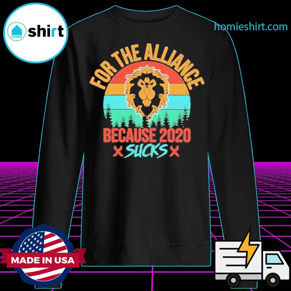 For the Alliance because 2020 Sucks vintage s Sweater