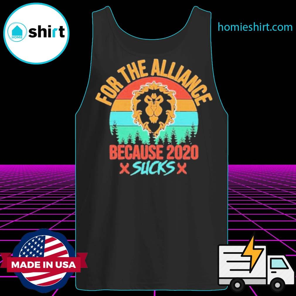 For the Alliance because 2020 Sucks vintage s Tank-Top