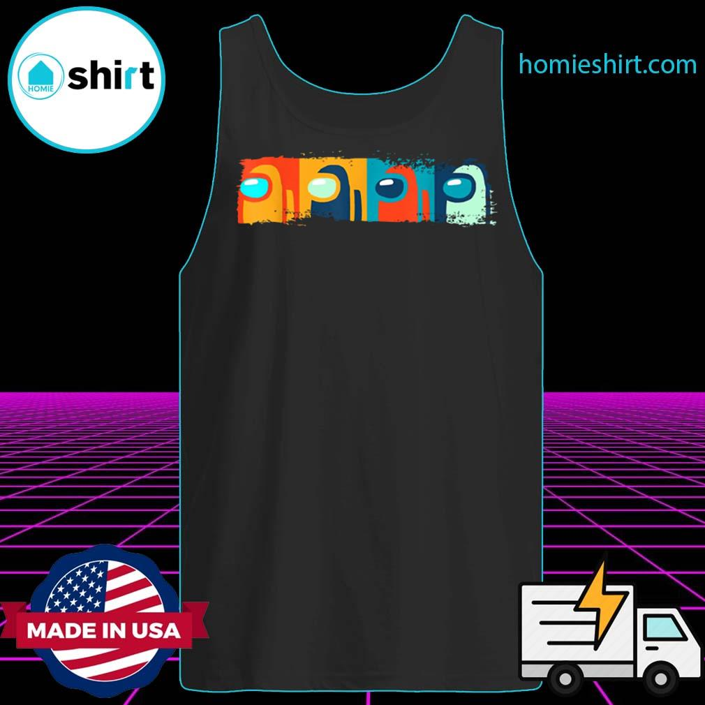 Imposter Among Game Us Sus Gift T-Shirt Tank-Top