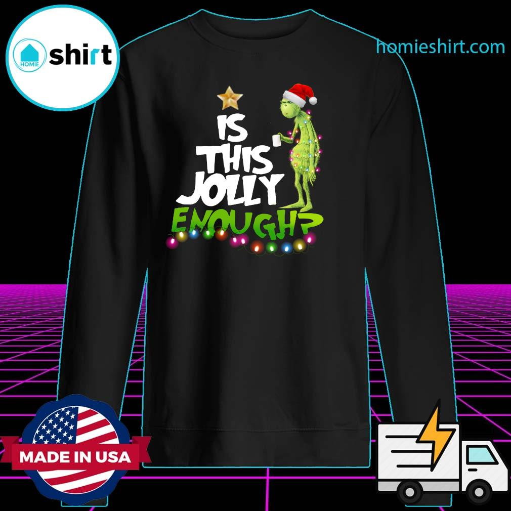 The Grinch Is Jolly Enough Christmas Sweats Sweater