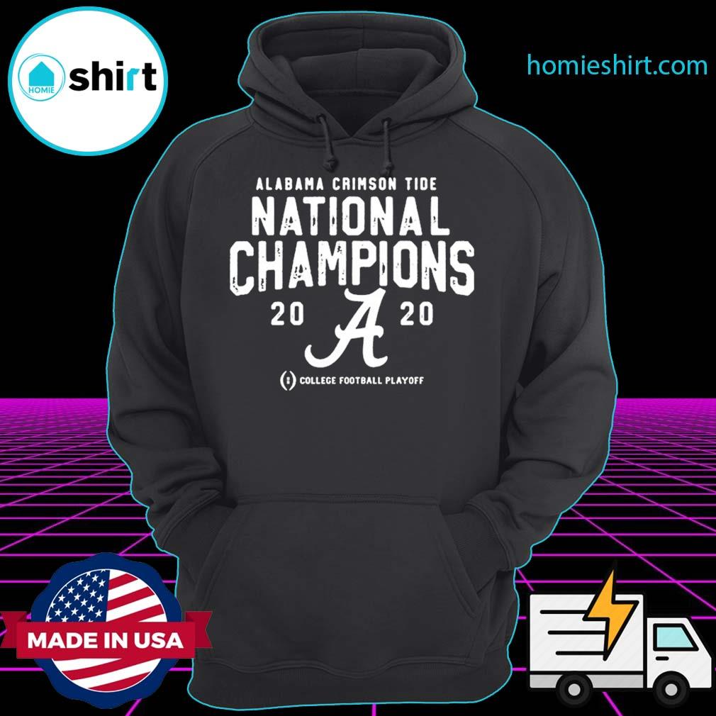 Alabama Crimson Tide College Football Playoff 2021 National Championship T-Shirt Hoodie