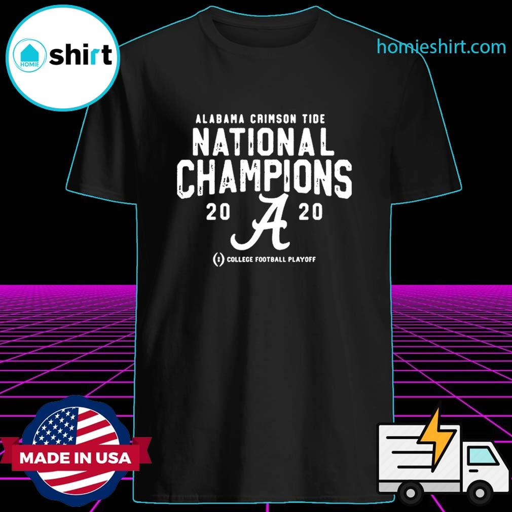 Alabama Crimson Tide College Football Playoff 2021 National Championship T-Shirt