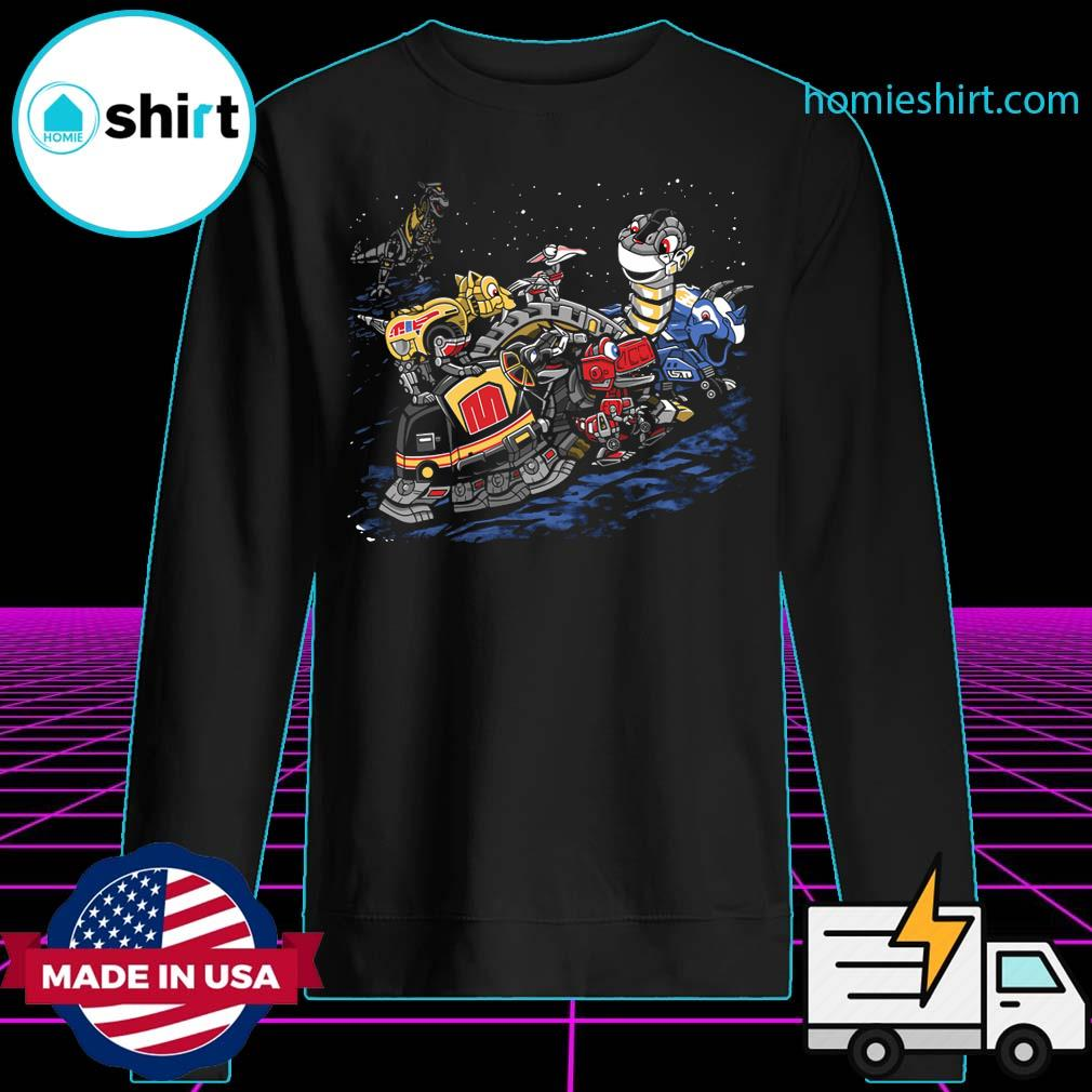 Zords before time Powers Ranger s Sweater
